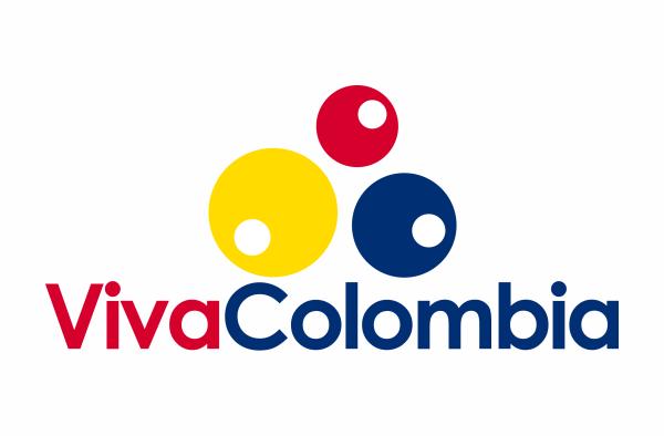 logo vivacolombia círculos de colores