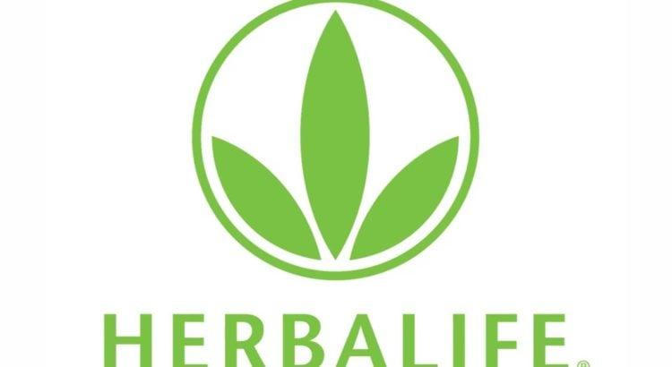logo herbalife figura de hojas