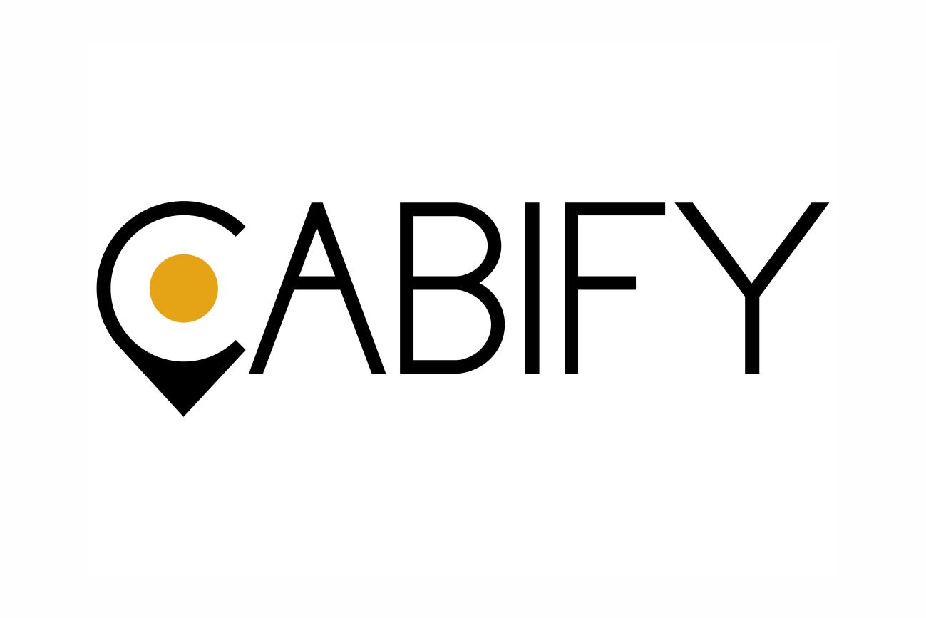 logo cabify punto amarillo