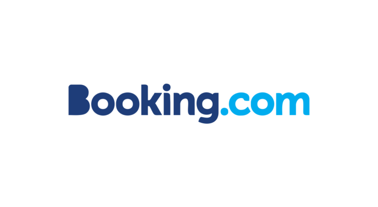 logo booking.com letras diferentes azules