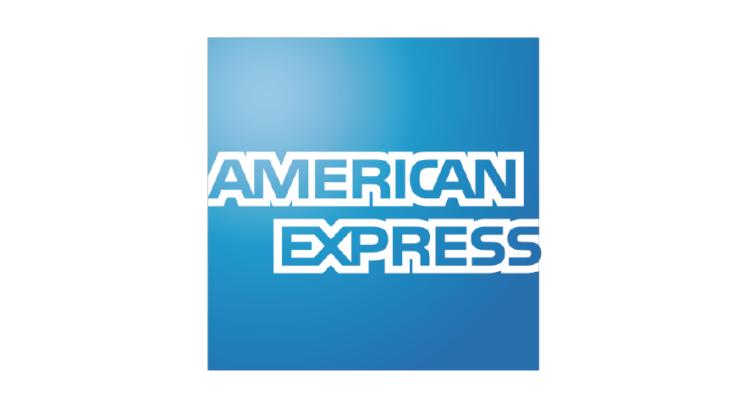 logo american express credito fondo azul