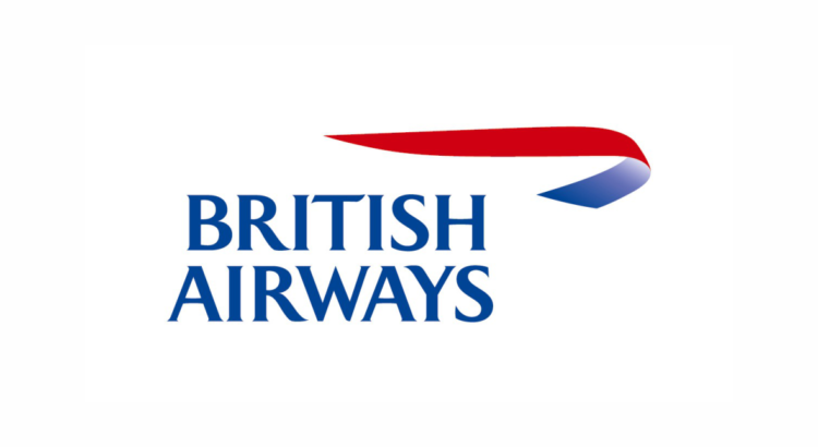 logo british airway letras azules