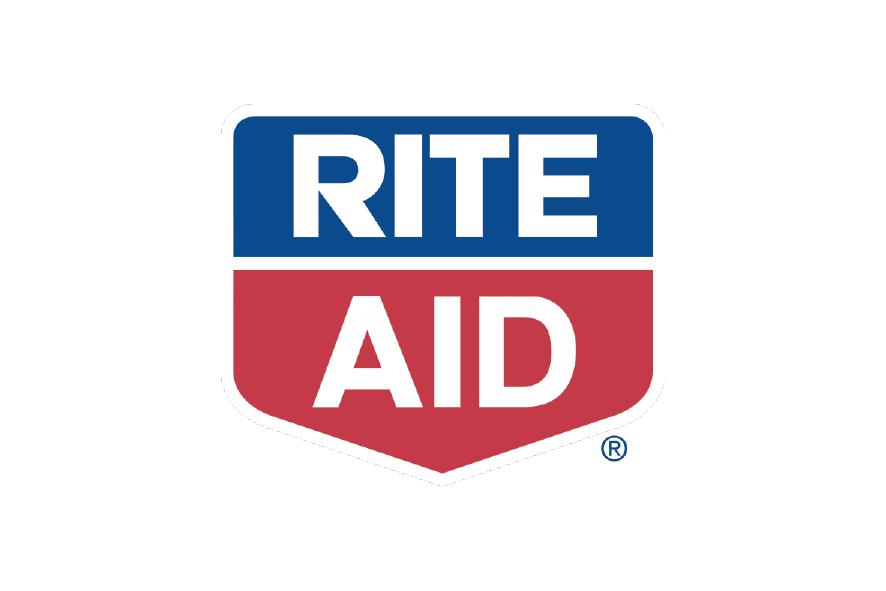 logo azul,rojo y blanco Rite Aid