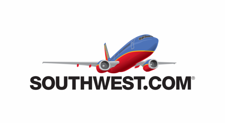 logo southwest.com avion rojo