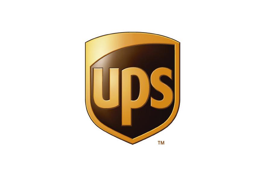 Logo naranja con marrón UPS