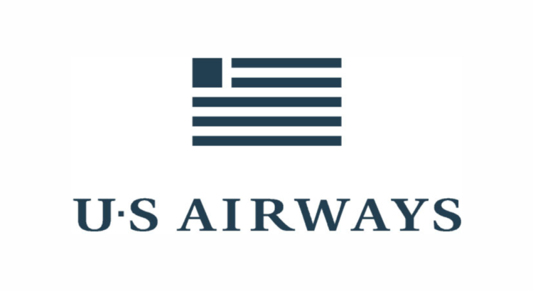 logo u.s airways bandera toda gris