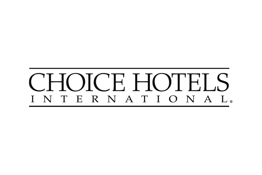 Logo negro hotel Choice Hotels International