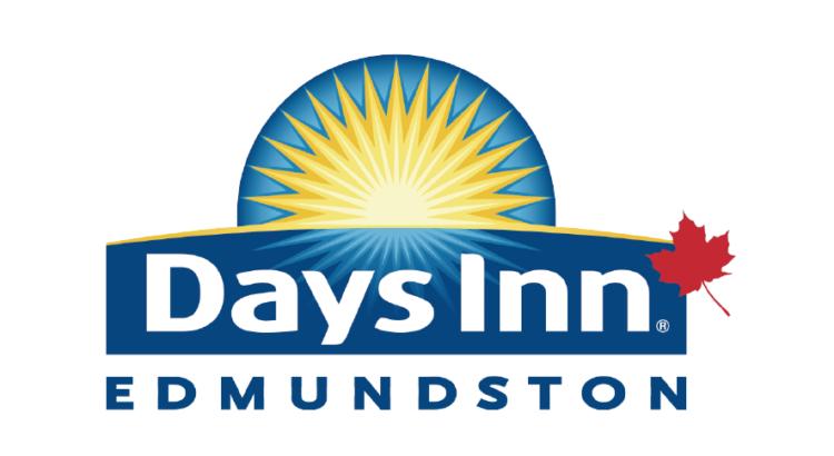 Logo azul con amarillo y rojo hotel Days inn