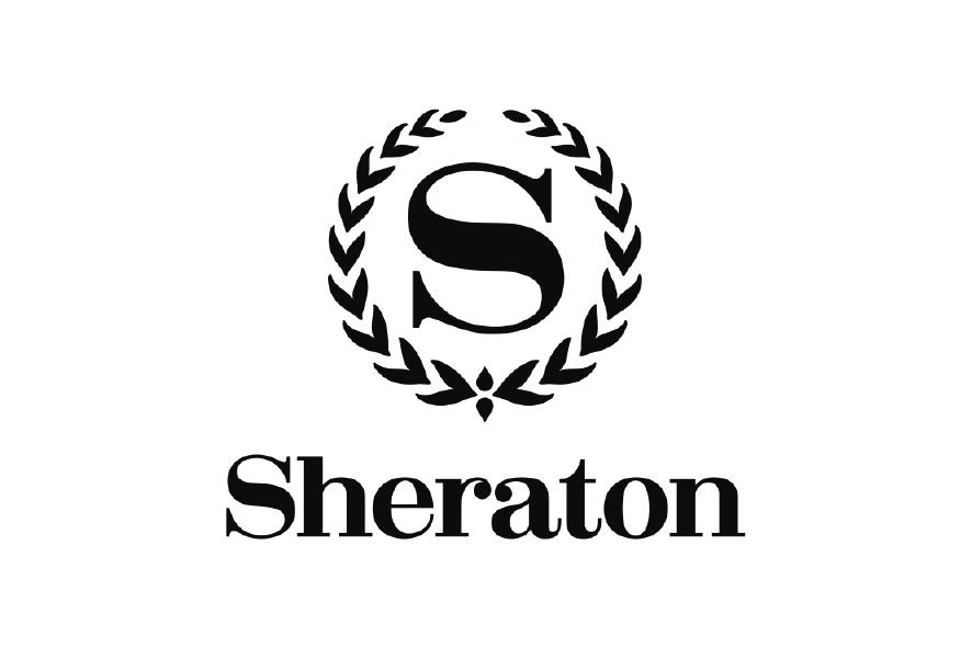 Logo negro s hotel sheraton