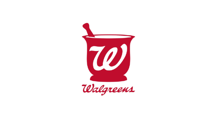 Logo rojo farmacia Walgreens